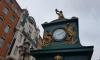 Часы Лансере на Малой Конюшенной снова показывают правильное время