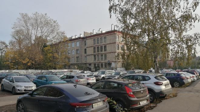 Петербуржцы потребовали включить парковку чиновников в центре города в зеленые насаждения