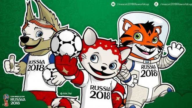 Коты-футболисты встретят гостей ЧМ-2018 в Петербурге