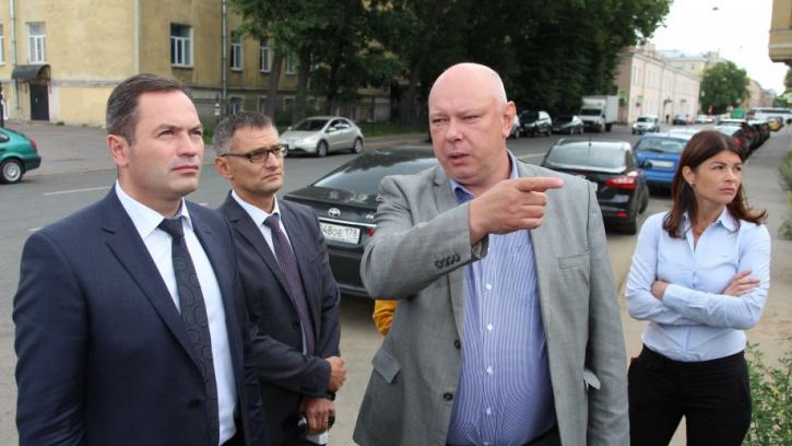 Жилищный комитет провёл мониторинг работ государственных Жилкомсервисов Адмиралтейского района