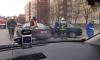 Две иномарки столкнулись в Петергофе: пострадал ребенок