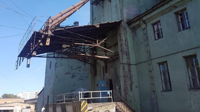 КИО ответит за ненадлежащее состояние Элеватора мукомольного завода имени Ленина