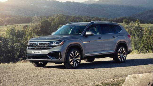 Volkswagen представил обновленный кроссовер Teramont для России