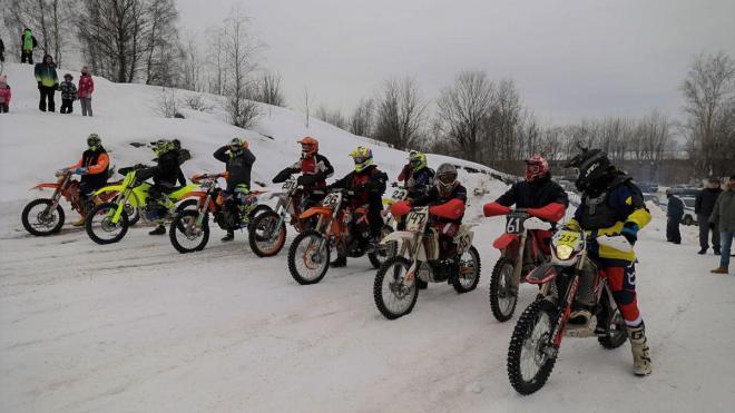 Выборгские гонщики оказались в числе победителей 52-го мотокросса