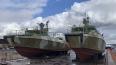 В акватории Невы начались испытания патрульных катеров ...