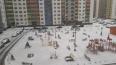 В среду улицы Петербурга засыпало снегом