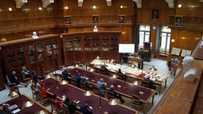 В библиотеке Генштаба открылась выставка, посвященная Второй Мировой войне