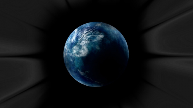 Чёрная дыра может засосать Землю