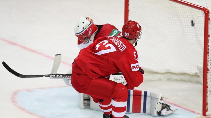 Россия обыграла Чехию в стартовом матче ЧМ-2021