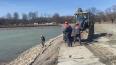 В Петергофе очистили Запасной пруд водоподводящей ...