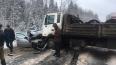 Движение на трассе А-114 в Ленобласти перекрыли из-за ...