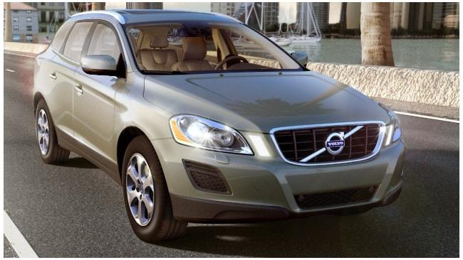 Volvo представила кроссовер XC60 Inspiration 2013