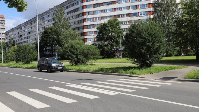 В Выборгском районе отремонтировали шесть улиц
