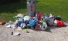 За неделю в Петербурге накопилось три тысячи тонн мусора
