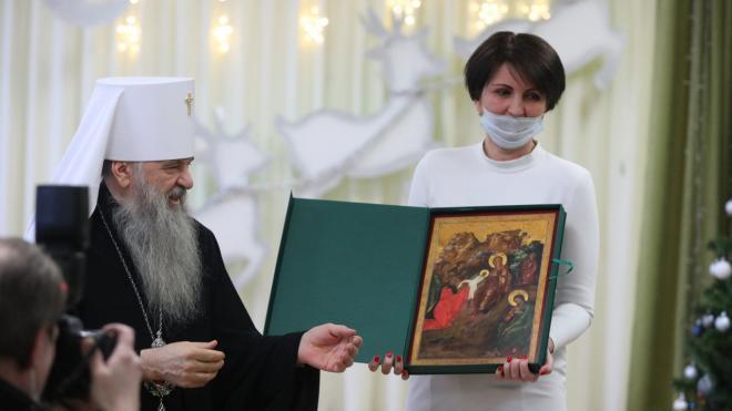 Митрополит Санкт-Петербургский и Ладожский посетил детский сад Фрунзенского района