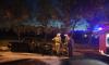 Во Фрунзенском районе за ночь сгорели два автомобиля