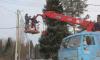 В Калининском микрорайоне Выборга началось строительство линии наружного освещения