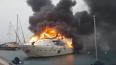 В турецком порту полыхала дорогущая яхта российского ...