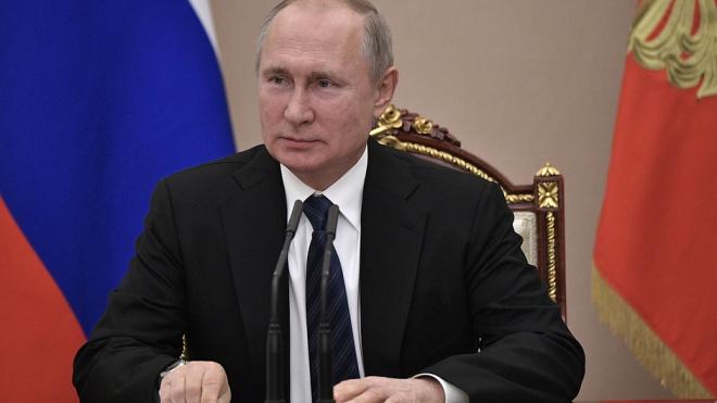 Владимир Путин освободил от должности начальника петербургского университета МЧС
