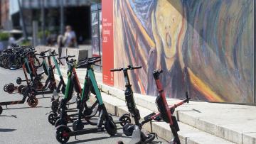 Сервисы аренды самокатов будут блокировать нарушителей скоростного режима