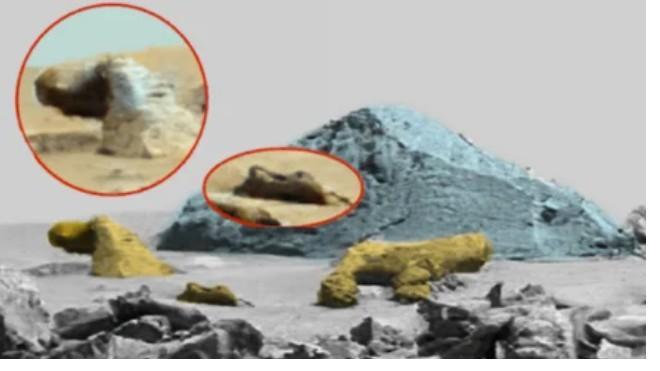 Охотник за НЛО обнаружил фото инопланетного храма