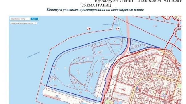 За 5 лет на Васильевском острове создадут 163 га намывных территорий