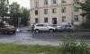 """На Таллинской улице автоледи сбила человека, а затем влетела в """"Ладу"""""""