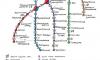 Петербуржцы представили карту пешеходного метро