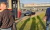 """На Савушкина кабриолет и трамвай """"встретились"""" на рельсах"""