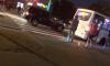 На проспекте Ветеранов внедорожник сбил пешехода