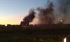 В Кудрово горят гаражи: черный дым затягивает улицы