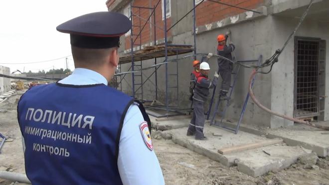 Полиция нашла мигрантов-нелегалов на стройках в Усть-Славянке