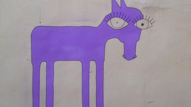 """Автор """"лошадей с большими глазами"""" на Васильевском рассказал о своих работах"""