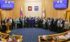 В преддверии празднования 92-й годовщины Ленобласти Александр Дрозденко наградил представителей Выборгского района