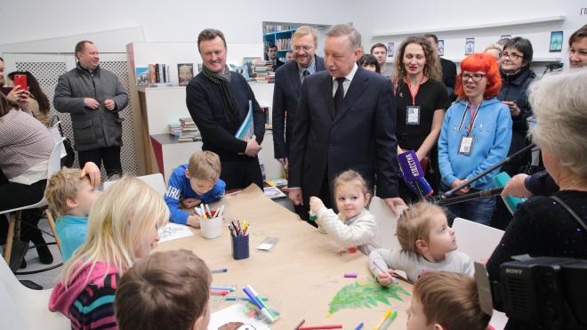 Беглов предложил использовать финский опыт в библиотеках Петербурга