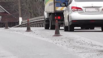 Из-за ремонта путепровода на внешнем кольце КАД перекроют две полосы