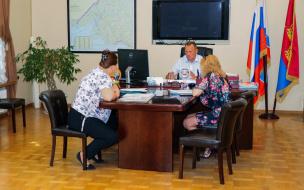 Глава районной администрации Выборга встретился с жителями