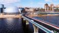Яхтенный мост закрывали для проверки МВД
