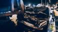 Maybach влетел в грузовик на Северном проспекте в ...