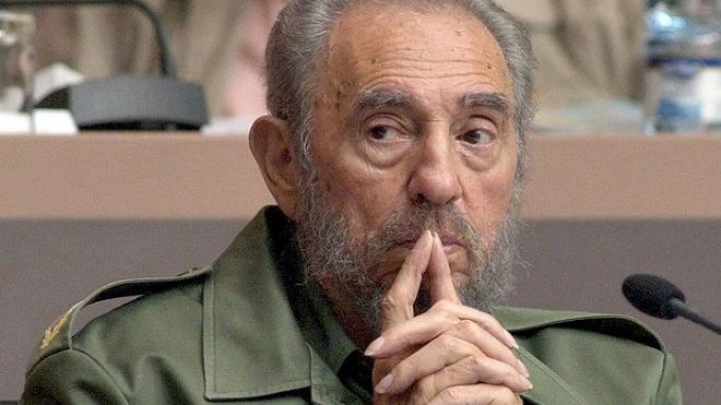 Фидель Кастро отмечает  юбилей. Команданте стукнуло 85