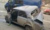 Фото массового ДТП в Приморском районе: перекресток не поделили три машины