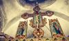 В Ленобласти верующим выдают православные светоотражатели