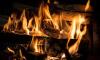 В Выборгском районе спасатели почти за час ликвидировали пожар в частном доме