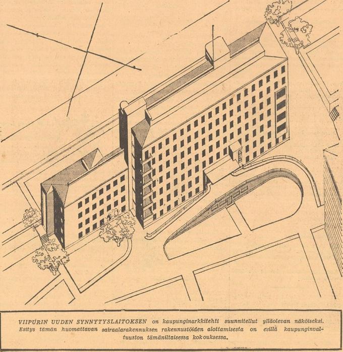 Женская больница в Выборге уже получила крышу Газета Karjala