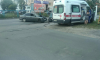 На улице Ивана Фомина столкнулись две иномарки