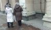 На Невском проспекте испортили надпись об артобстреле Ленинграда