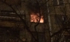 На проспекте КИМа спасатели залили водой пять этажей, пытаясь потушить пожар