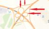 На развязке КАД с Энгельса перекроют четыре съезда