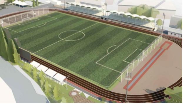 В Гатчине появится новый спортивный комплекс