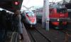 """Сапсан """"Петербург – Москва"""" наехал на человека в районе станции """"Вышний Волочек"""""""